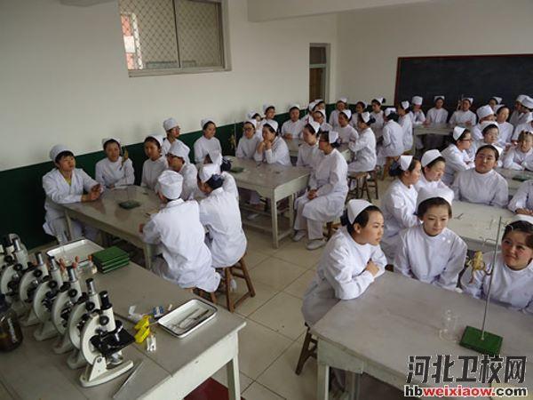 石家庄协和医学中等专业学校教室