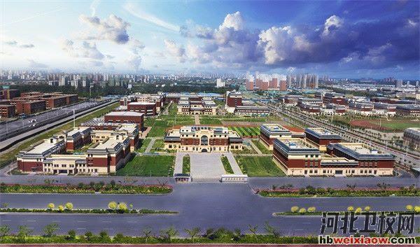 石家庄旅游学校校园环境