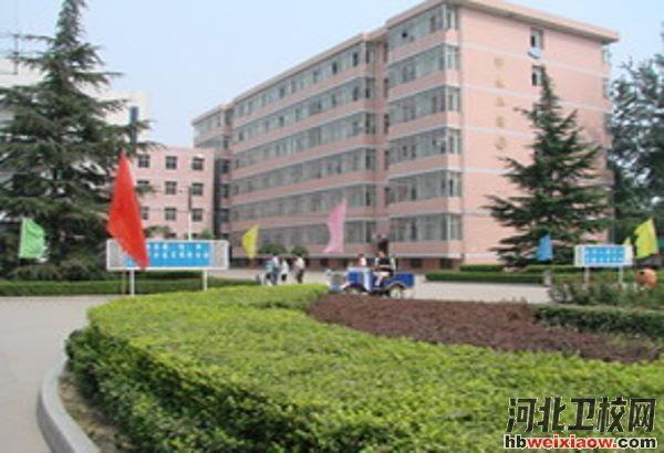 石家庄工程技术学校校园环境