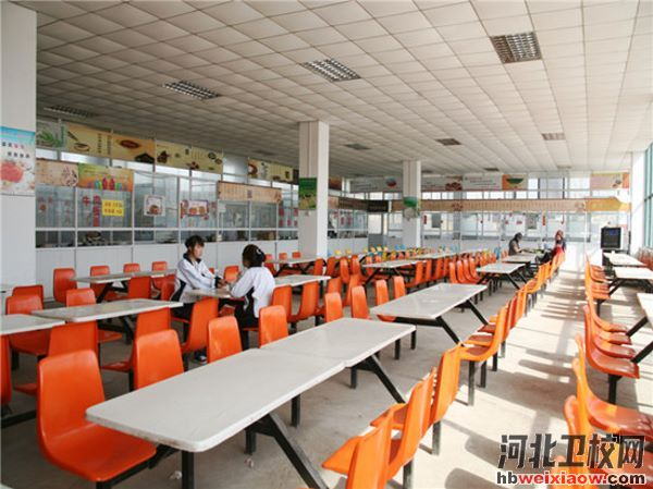 石家庄天使护士学校食堂