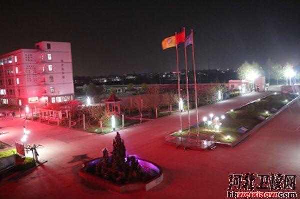 石家庄市藁城区职业技术教育中心校园环境